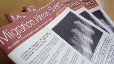Migration News Sheet information leaflet