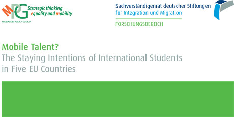 Mobile Talent? The Staying Intentions of International Students in Five EU Countries