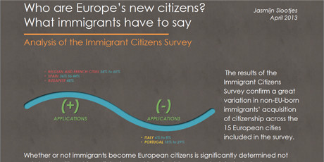 Who are Europe's new citizens? What immigrants have to say