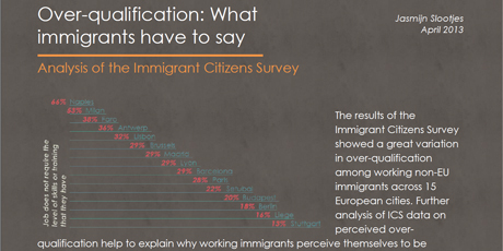 Over-qualification: what immigrants have to say
