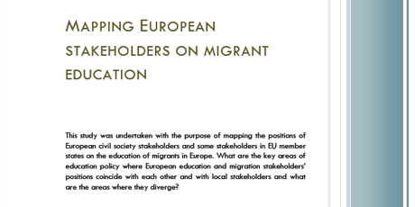 Mapping European stakeholders on migrant education