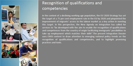 EWSI Integration Dossier 2013/01: Recognition of Qualifications and Competencies