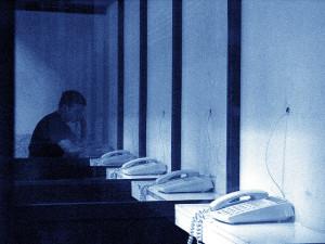 Migrants' Telephone Call Centre, Roquetas de Mar, Almería, January 2004. Credits: John Perivolaris   flickr